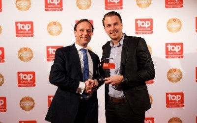 Foto uitreiking Top Employer ICT award 2017