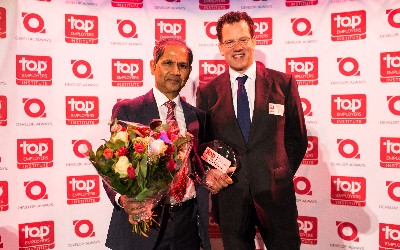 Foto uitreiking Top Employer award 2014